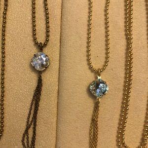 3 long ball chain LizPalacios necklaces